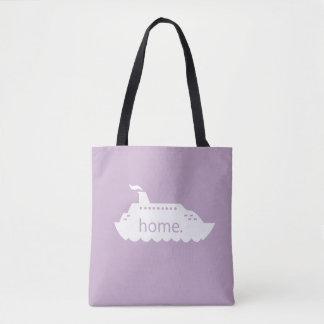 Kreuzfahrt-Schiffs-Zuhause - lavander Tasche