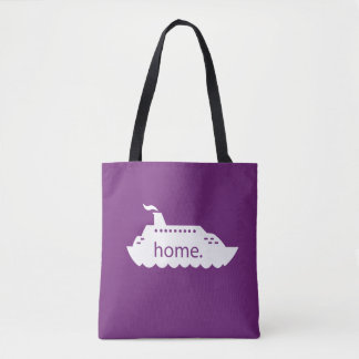 Kreuzfahrt-Schiffs-Zuhause - Pflaume Tasche