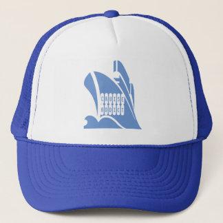 Kreuzfahrt-Süchtiger. Ein Hut für den Truckerkappe