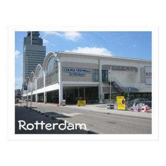 Kreuzfahrtanschluß Rotterdam Postkarte