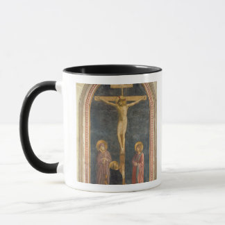 Kreuzigung mit der Jungfrau, SS. John das Evangeli Tasse