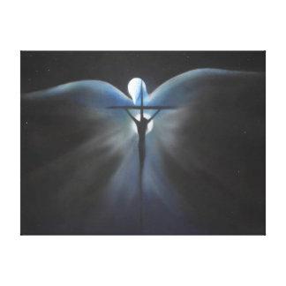 Kreuzigung von Christus mit dem Heiliger Geist Gespannte Galerie Drucke