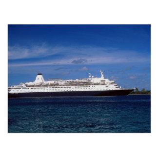 Kreuzschiff, Nassau, Bahamas Postkarte
