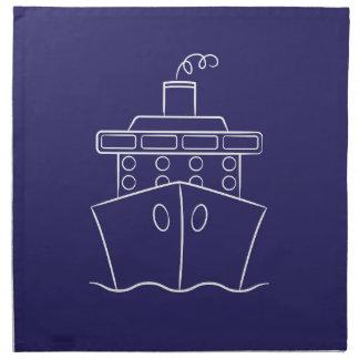 Kreuzschiff Stoffserviette