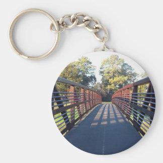 Kreuzung des Brücken-Fotos Schlüsselanhänger