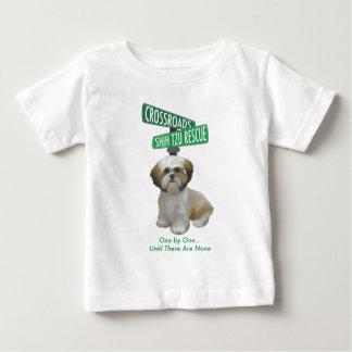Kreuzungen ShihTzu Rettung Baby T-shirt