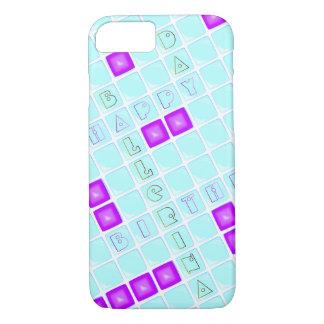 Kreuzworträtsel - alles Gute zum Geburtstag, iPhone 8/7 Hülle