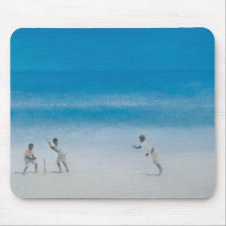 Kricket auf dem Strand 2012 Mousepad
