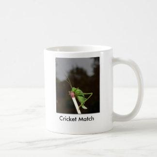 Kricket-Match Kaffeetasse