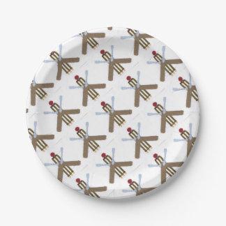 Kricket-PapierTeller Pappteller