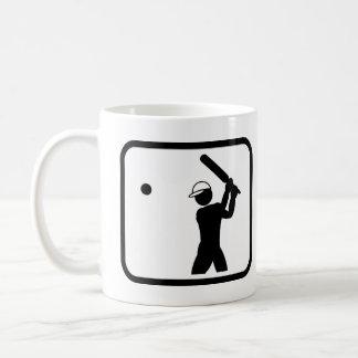 Kricket-Spieler Pro Kaffeetasse