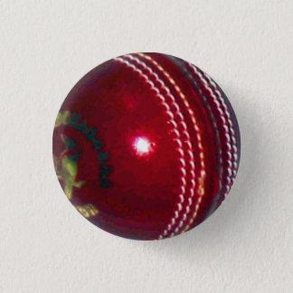 Kricketball Runder Button 2,5 Cm