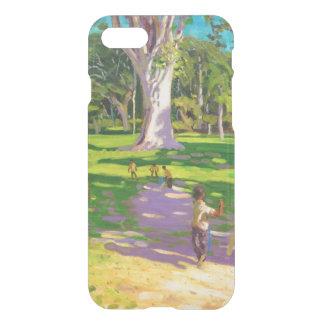 Kricketmatch botanische Gärten Dominica iPhone 8/7 Hülle