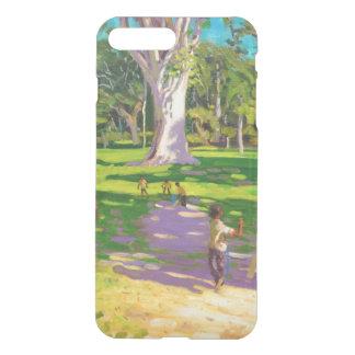 Kricketmatch botanische Gärten Dominica iPhone 8 Plus/7 Plus Hülle