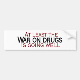 Krieg auf Drogen Autoaufkleber