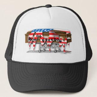 Krieg auf Freiheits-Schatulle Truckerkappe