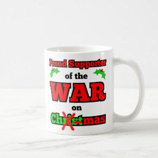 """""""Krieg auf Weihnachten"""" glückliche Feiertags-Tasse Kaffeetasse"""