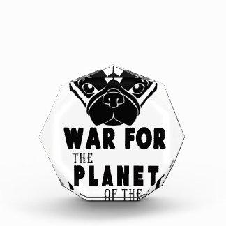 Krieg für Planeten des coolen Hundes der Möpse Auszeichnung