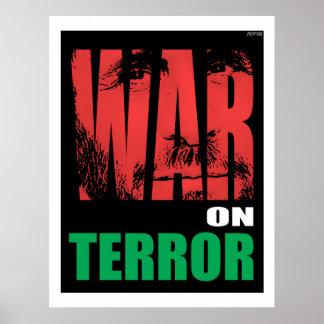 Krieg gegen den Terror Poster