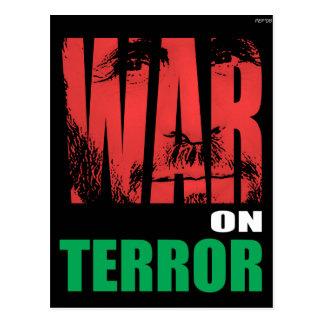 Krieg gegen den Terror Postkarte