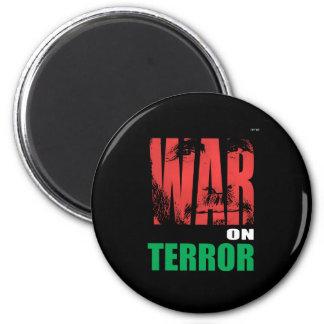 Krieg gegen den Terror Runder Magnet 5,7 Cm
