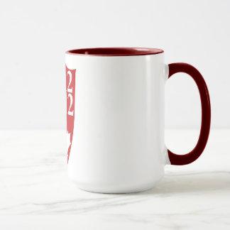 Krieg von Kaffee-Tasse 1812 2 Tasse