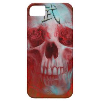 Krieger-Kanjischädel iPhone 5 Etui