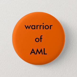 Krieger von AML Knopf Runder Button 5,1 Cm