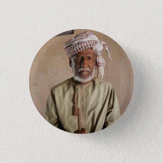 Krieger von Oman: Cooles Vintages Foto Runder Button 2,5 Cm