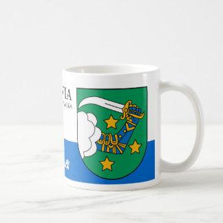 Kriegers-Arm mit SABRE von Valka Lettland Kaffeetasse