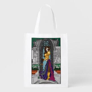 Kriegers-Frau Wiederverwendbare Einkaufstasche