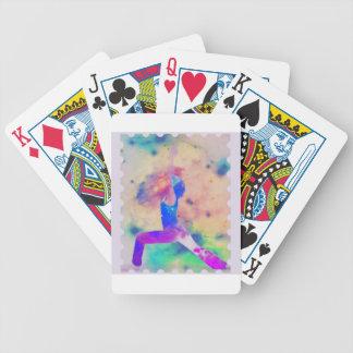 Kriegers-Göttin-Yoga-Reihe Bicycle Spielkarten