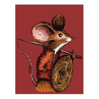 Kriegers-Maus Postkarte