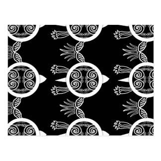 Kriegers-Schildkröte Postkarte