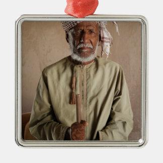Kriegers-Telefon-Kasten von Oman Silbernes Ornament