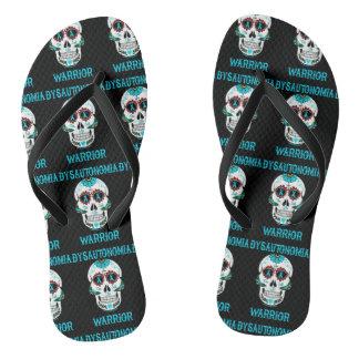 Kriegers-/Zuckerschädel… Dysautonomia Flip Flops