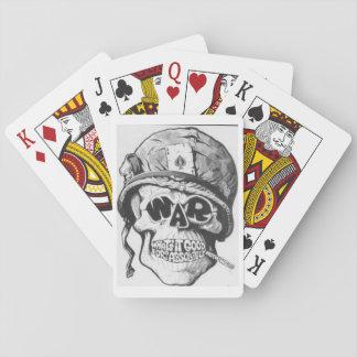 Kriegs-Friedensspielkarten Spielkarten