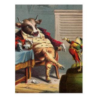 Kriegs-Geschichten Fron allgemeiner Frosch Postkarte