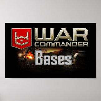 Kriegs-Kommandant Bases Small Poster