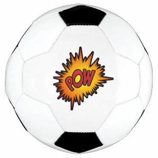 Kriegsgefangen-Superheld-Kampf Fußball