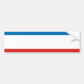 Krim-Flagge Autoaufkleber