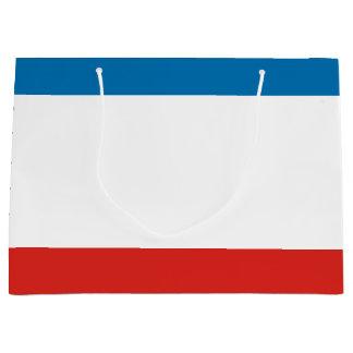 Krim-Flagge Große Geschenktüte