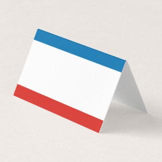 Krim-Flagge Platzkarte