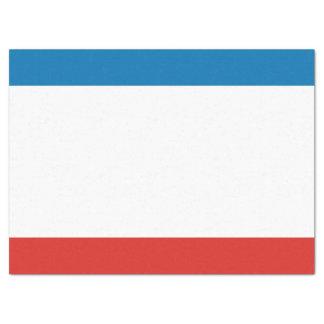 Krim-Flagge Seidenpapier
