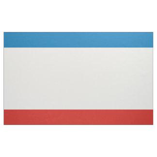 Krim-Flagge Stoff