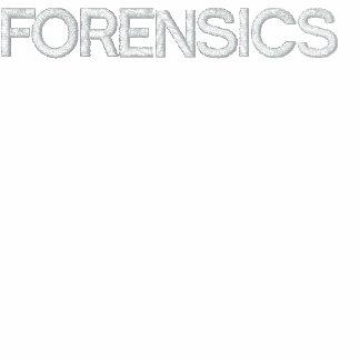 Kriminalistik-Jacke Bestickte Fleece Track Jacke