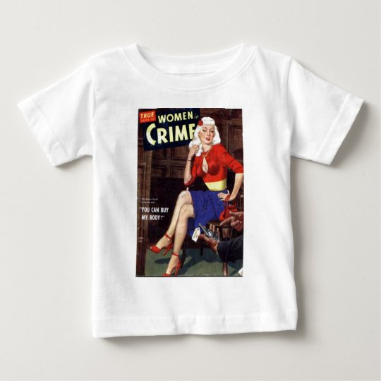Kriminelle Blondine Baby T-shirt