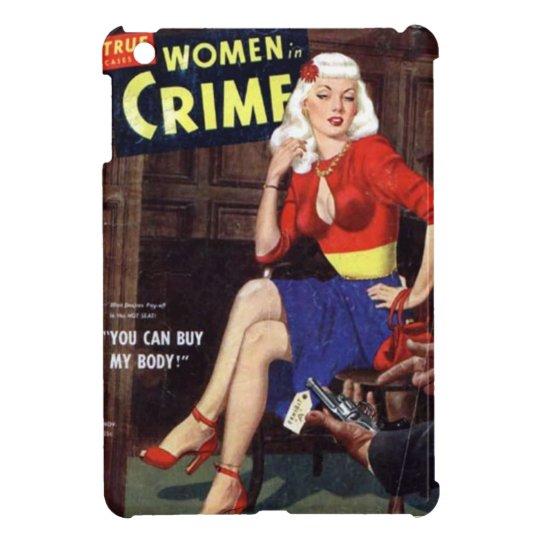 Kriminelle Blondine iPad Mini Hülle