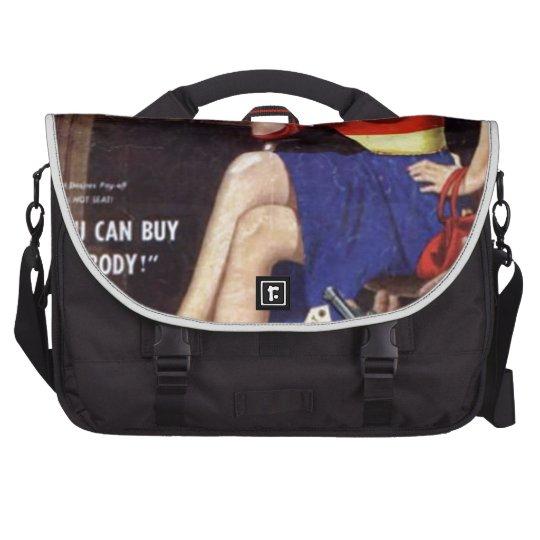 Kriminelle Blondine Laptop Taschen