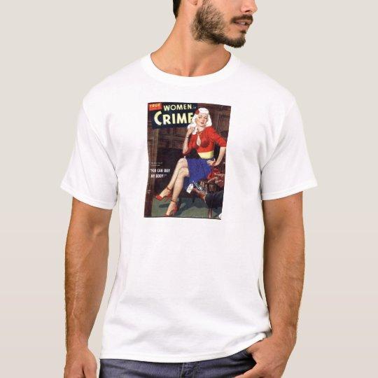 Kriminelle Blondine T-Shirt